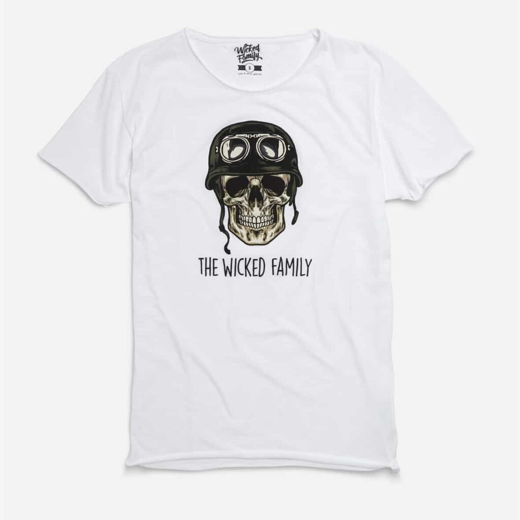 Scull Tee