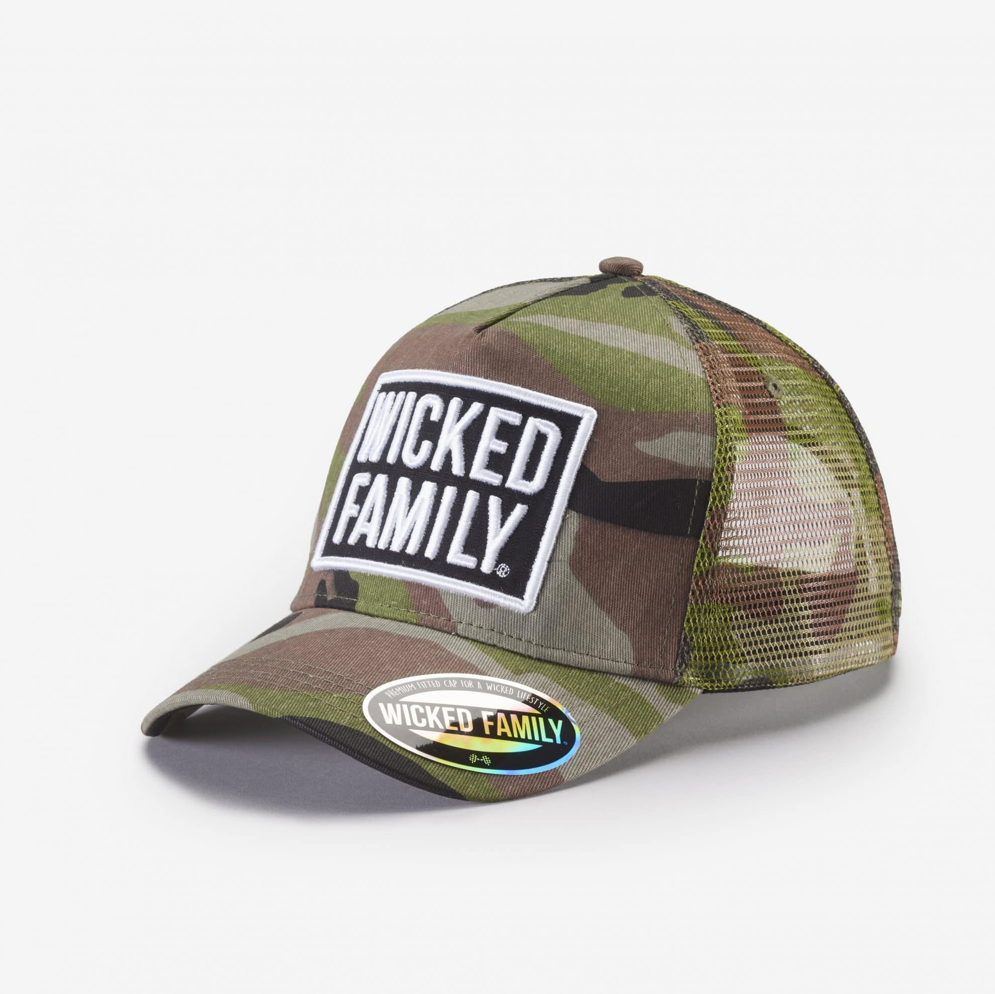 0bbbb965935 WICKED FAMILY SNAPBACK HAT