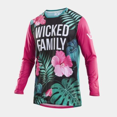 Race MX Jersey Tropical Black