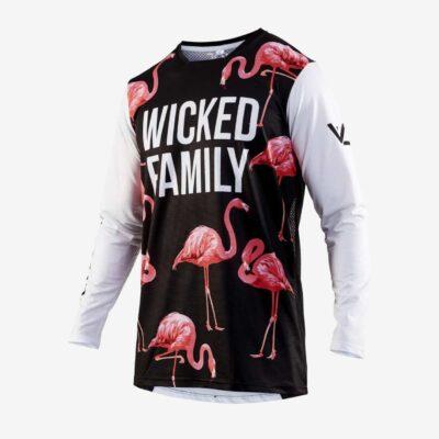 Style MX jersey flamingo