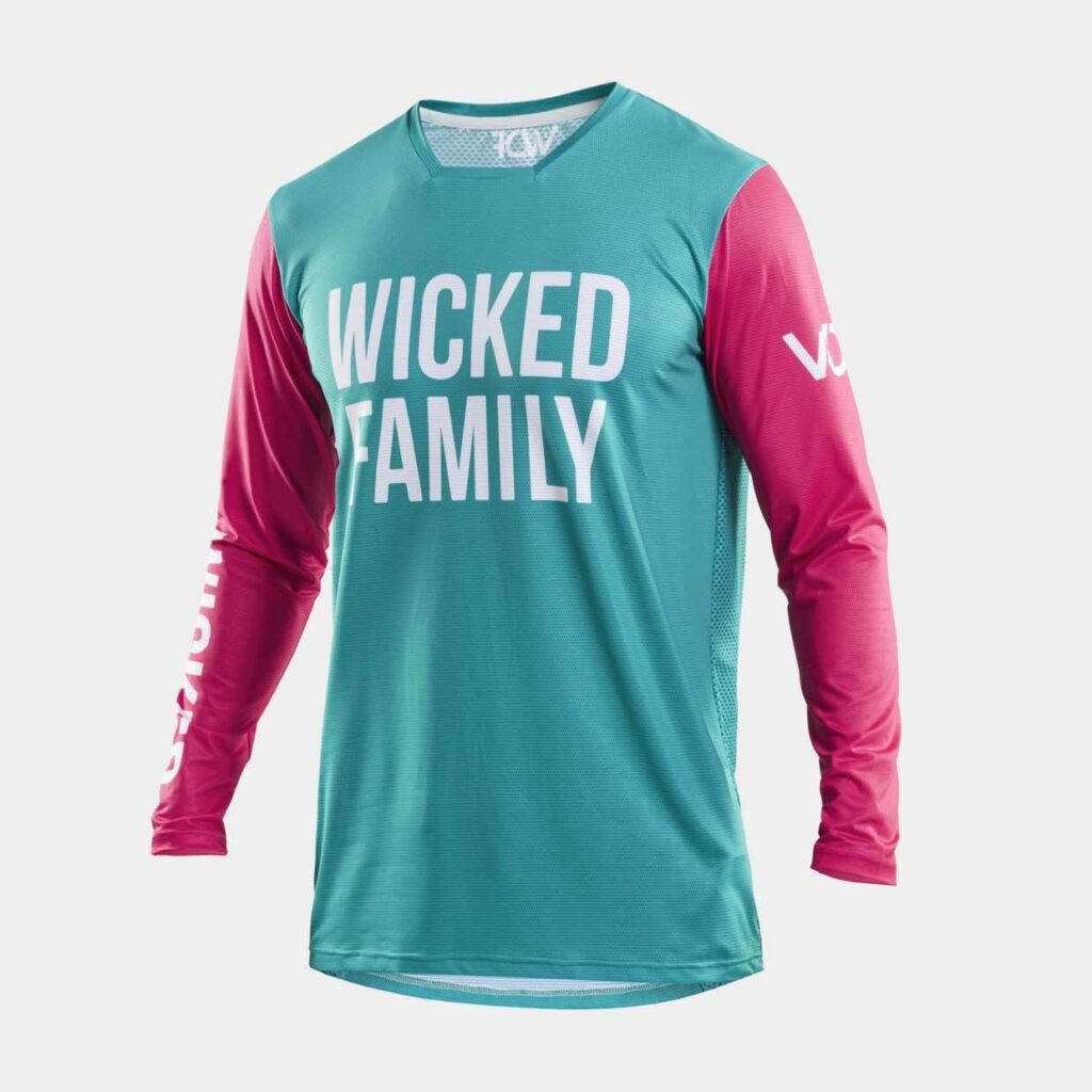 Speed MX Jersey Peacock/Pink