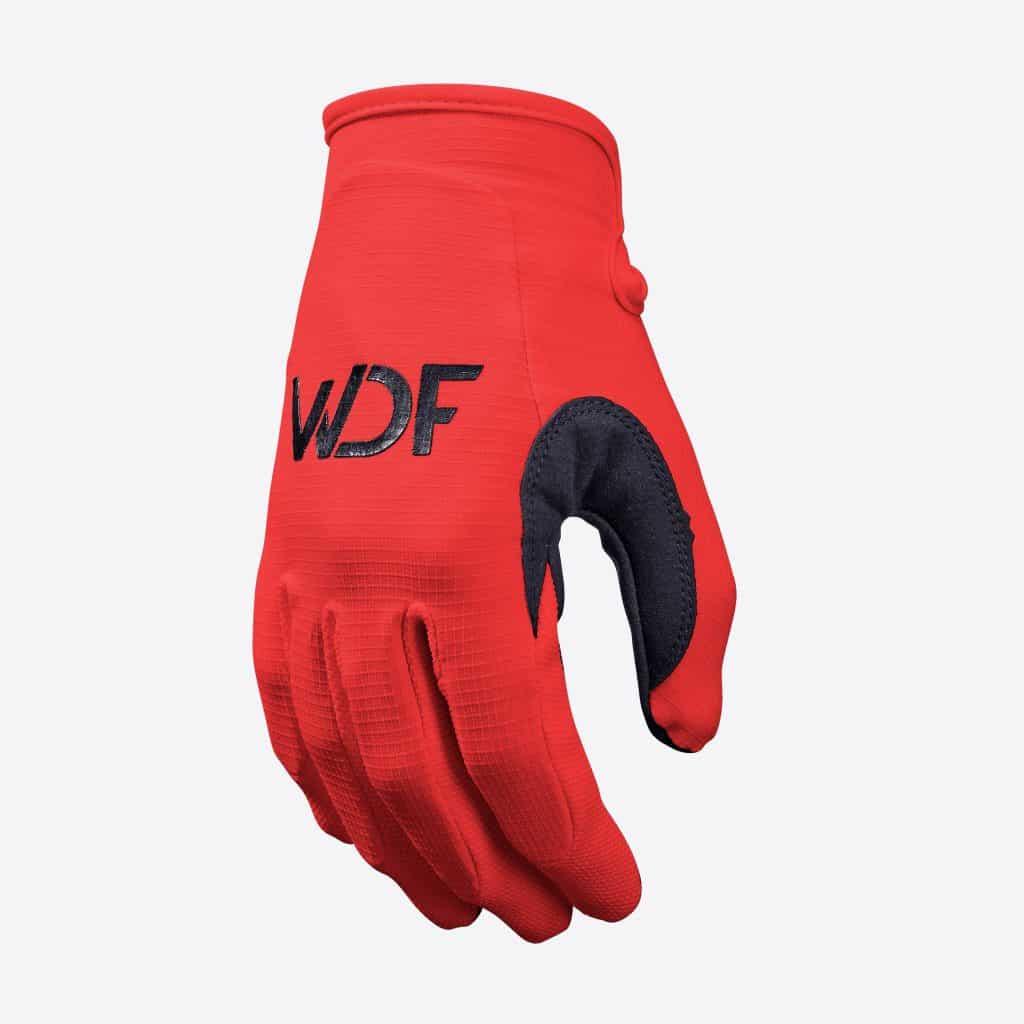 Tempo Glove red, MX Gear