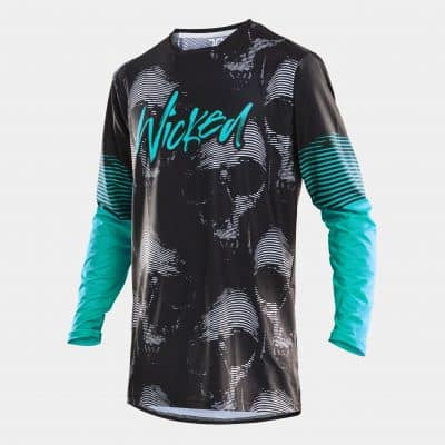 Scull Jersey Teal