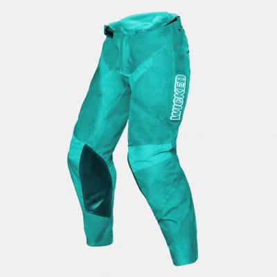 Wicked scrub pant teal