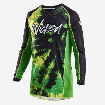 Tie Dye jersey Black/green