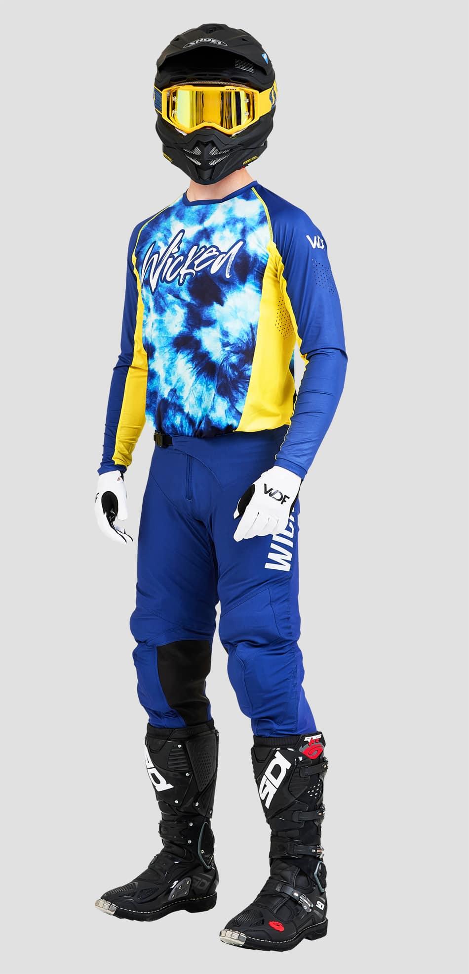 Tie Dye Blue MX combo