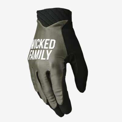 Push Glove Army Green