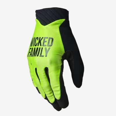 Push Glove Lime green